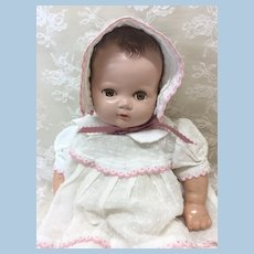 "Sweet Vintage 16"" Composition Baby Doll"