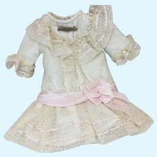 """~On Hold for KW~ Exquisite Small Netting Bebe Dress 12-13"""" Doll"""
