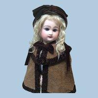 Antique Set Cape & Bonnet For Doll