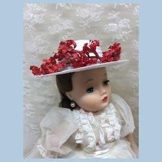 Artist Made Cissy Hat Vintage Trims