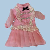 Small Replacement Dress for Antique Doll