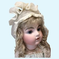 French Bonnet for Large Doll