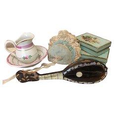 """Antique French Fashion Mandolin 5"""""""