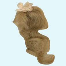 "Tiny 3 1/4"" Antique Mignonette Wig"
