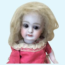 "4"" Antique Mohair Blonde Wig"