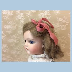 """Antique 7"""" Mohair Doll Wig"""