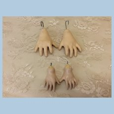 2 Sets Replacement Doll Hands