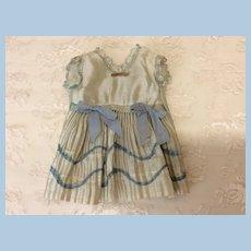 Petite Original Antique SFBJ Dress for Small Doll
