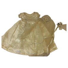 Silk Satin Wedding Gown & Veil