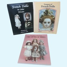 3 French Doll Books