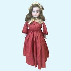 """17"""" Blue Eyed German Doll Unusual Body"""