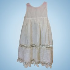 Beautiful Antique Slip Underdress for Larger doll