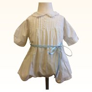 Beautiful Older Cotton Onesie for Boy/Girl baby or toddler doll