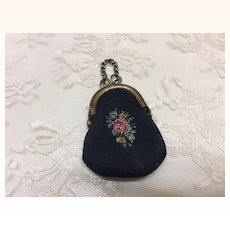 Tiny Embroidered French Fashion Purse
