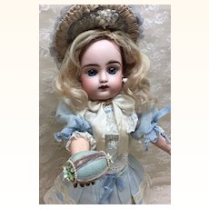 Tiny Victorian Decorated Egg Tape Measure For Doll Display