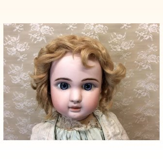"Antique Mohair Doll Wig 13-14"" French or German Bisque doll"