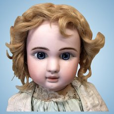 """Antique Mohair Doll Wig 13-14"""" French or German Bisque doll"""