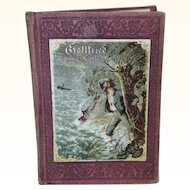 Small Antique German Book For Doll Display