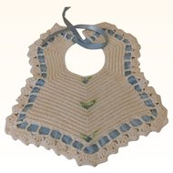 Lovely Antique Bib for Doll