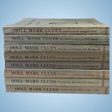 Doll Mark Clues Reference Book Set 8 Volumes