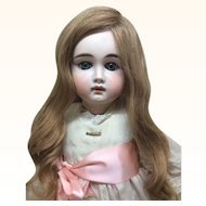 *Reserved for J*Early Closed Mouth German Doll 23""