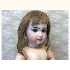 Antique Human Hair Wig Sz 11-12
