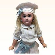 "Beautiful Sz 8 Jumeau 19"" French Bisque Doll"