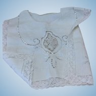 Large Edwardian Collar for Dolls Clothing
