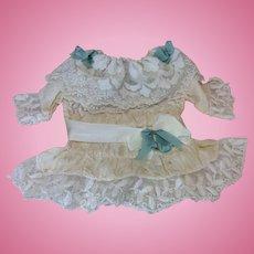"""Beautiful Silk Dress 16-18"""" Doll"""