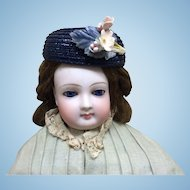 Vintage Hat for French Fashion or Small Doll