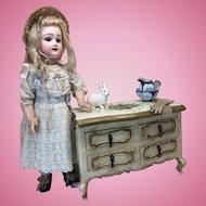 LARGE Handpainted Italian Dresser