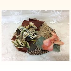 Antique Hat in Fall Colors