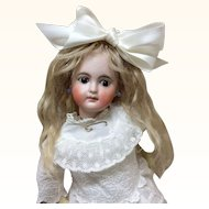 "Precious 13"" Sonneberg Child Antique Bisque Doll Belton"