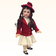"Charming Bebe Jumeau SFBJ 29 1/2"" Antique Bisque Doll"
