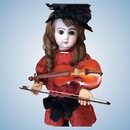 "Doll Size Violin 9"" with Case & Bow"