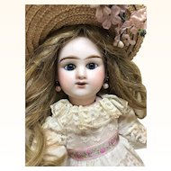 """Beautiful 13"""" Rabery & Delphieu Antique French Bisque Doll"""