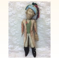 Beautiful Antique Cloth Doll