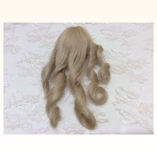 Tiny Size 5 Blonde French Human Hair Wig