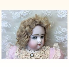 "7 1/2"" Antique Mohair Curly Wig"