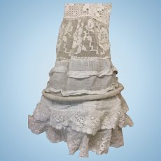 Antique Hoop Skirt For French Fashion Doll