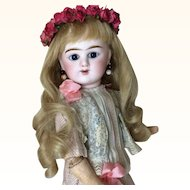 """13"""" Antique French Bisque Rabery & Delphieu Doll"""