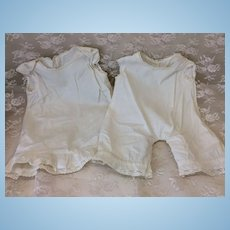 """Early 1 Pc Underwear & Slip Matched Set  22-24"""" Doll"""