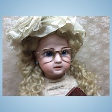 Rare Child's Antique Gold Filled Spectacles For Doll