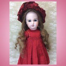 """Extra Long Antique Original Mohair Wig 9 1/2-10"""""""