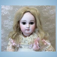 """Wonderful Antique Hand Tied Mohair Wig 7-8"""""""