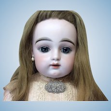 """Bangs Style Antique Blonde 13"""" Human Hair Doll Wig"""