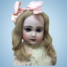 "Gorgeous 19"" Jumeau French Bisque Doll"