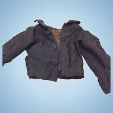 Beautiful Antique Small Silk Jacket for Bisque Doll