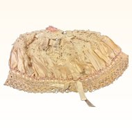 Victorian Bonnet For Fabric Trims Ribbon Doll Clothing Sewing
