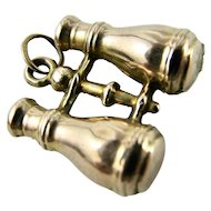 Victorian Charm 9k Gold Binoculars Hallmarked